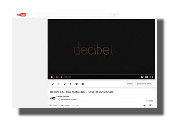 DECIBELA CLIP METAL 02 SNOWBOARD YOUTUBE